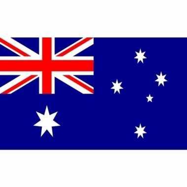Kleine vlag van australie 60 x 90 cm