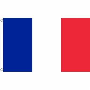 Kleine vlag van frankrijk 60 x 90 cm