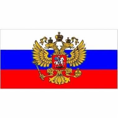 Kleine vlag van rusland 60 x 90 cm