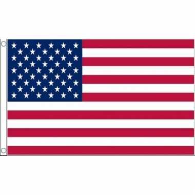 Kleine vlag van usa 60 x 90 cm