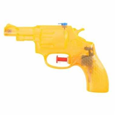 Kleine water revolver oranje