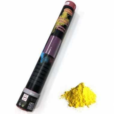 Kleurenpoeder shooters geel