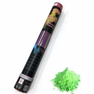 Kleurenpoeder shooters groen