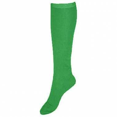Kleurige kniekousen groen