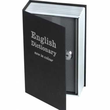 Kluis in de vorm van een engels woordenboek 500 gram