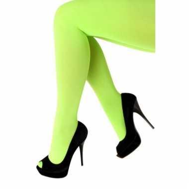 Knal groene dames panty 60 denier