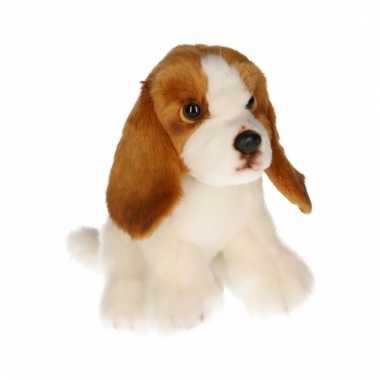 Knuffel basset hond 16 cm
