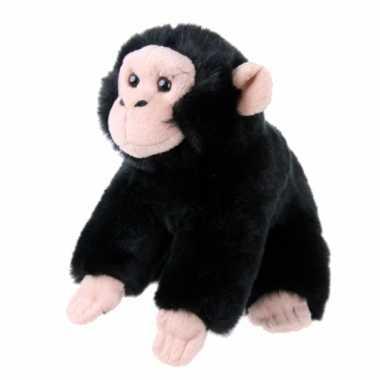 Knuffel chimpansee 18 cm