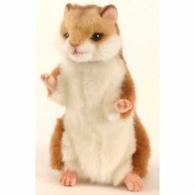 Knuffel hamster 15 cm