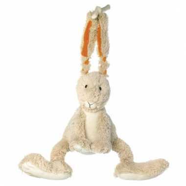 Knuffel muziekdoos konijn 26 cm