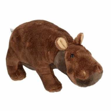 Knuffel nijlpaard 20 cm