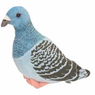 Knuffel vogel duif 24 cm