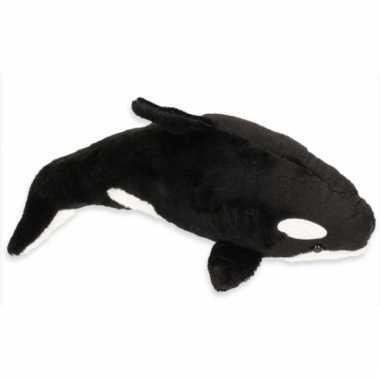 Knuffelbeest orca 22 cm