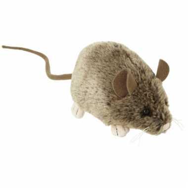 Knuffeldier muis 12 cm