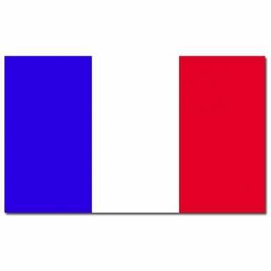 Landen frankrijk vlaggen 90 x 150 cm