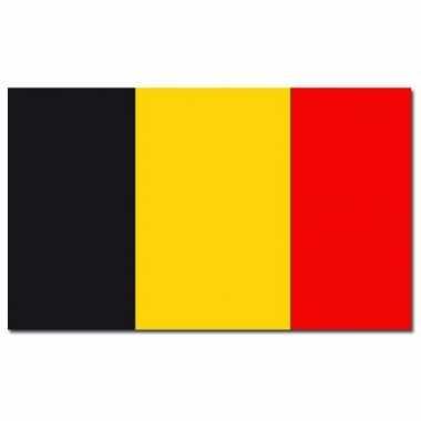 Landen vlag belgie 90 x 150 cm