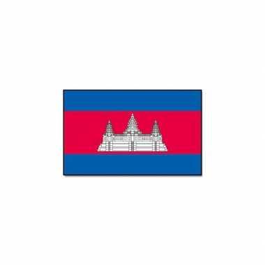 Landen vlag cambodja