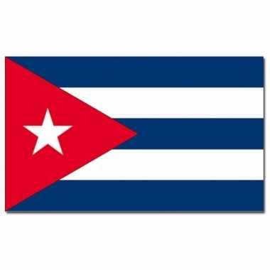Landen vlag cuba 90 x 150 cm