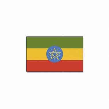 Landen vlag ethiopie