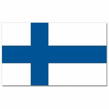 Landen vlag finland 90 x 150 cm