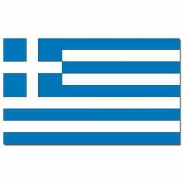 Landen vlag griekenland 90 x 150 cm