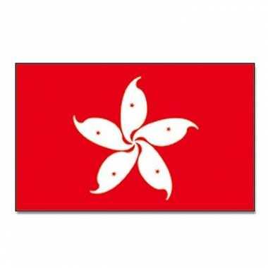 Landen vlag hong kong 90 x 150 cm