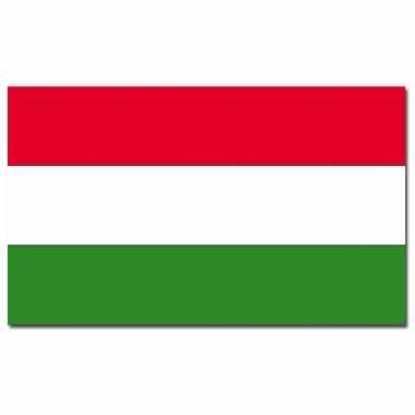 Landen vlag hongarije 90 x 150 cm