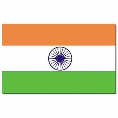 Landen vlag india 90 x 150 cm