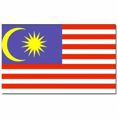 Landen vlag maleisie 90 x 150 cm