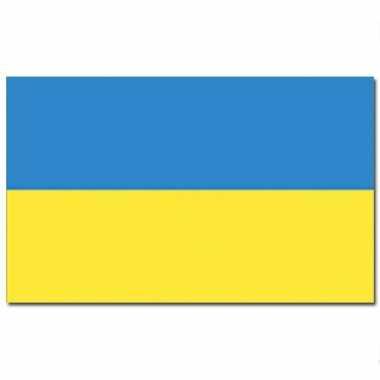Landen vlag oekraine