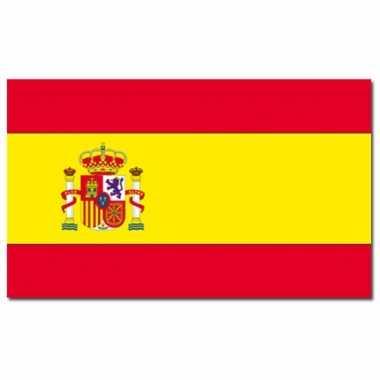 Landen vlag spanje 90 x 150 cm