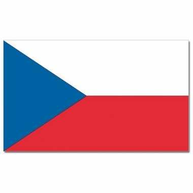 Landen vlag tsjechie 90 x 150 cm