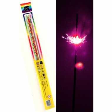 Lange party sterretjes neon 45 cm