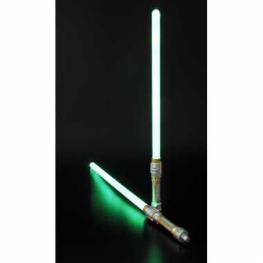Laser zwaard groen led licht 140 cm