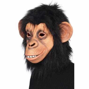 Latex chimpansee maskers