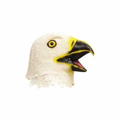 Latex dieren masker adelaar