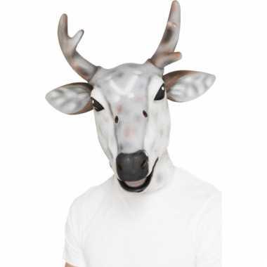 Latex dierenmasker rendier