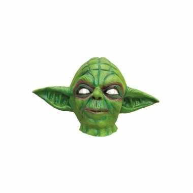 Latex masker van yoda