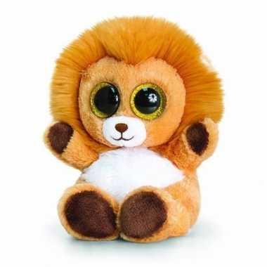 Leeuw knuffeldier pluche 15cm