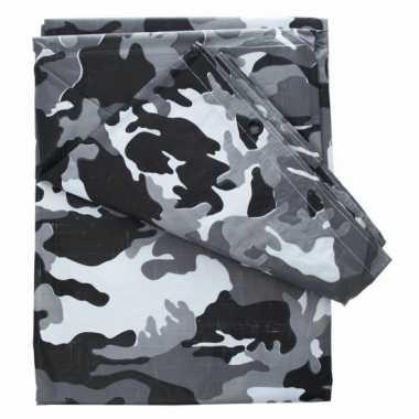 Leger camouflage zeil 4 x 3 meter
