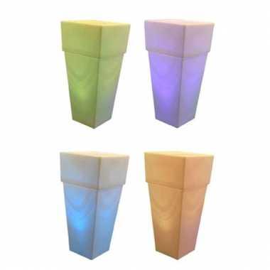 Licht vaas groot die van kleur verandert 10041389