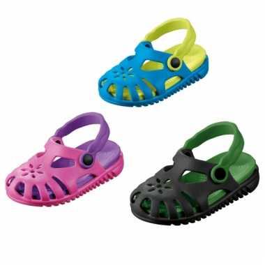 Lichte kids waterschoen sandalen met bloemetje