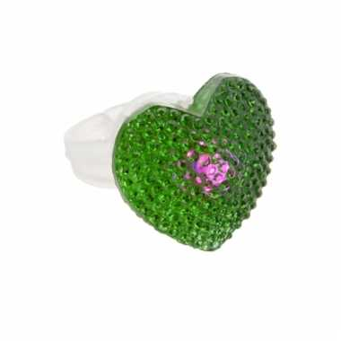 Lichtgevende ring met hartje