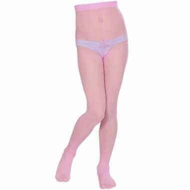 Lichtroze panty voor meisjes