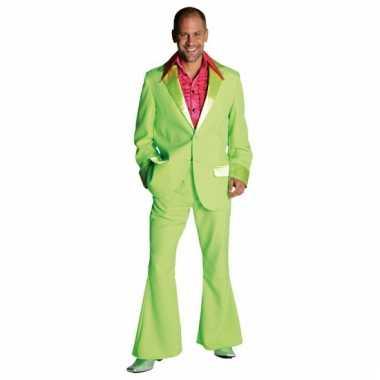 Lime groen verkleed kleding pak