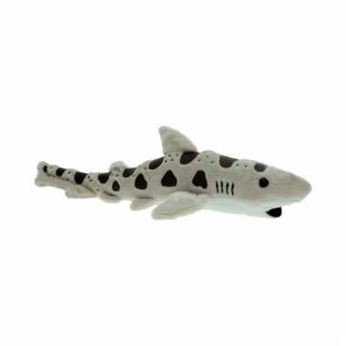 Luipaard haai knuffel 31 cm