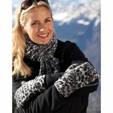 Luipaard print winterset