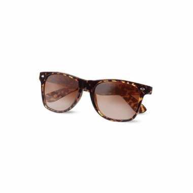 Luipaard print zonnebril voor dames