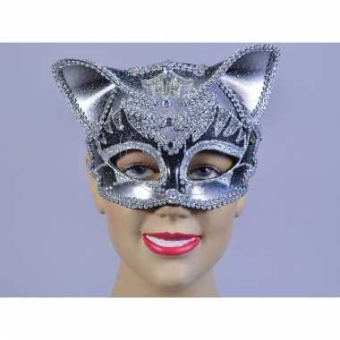 Luxe katten maskers