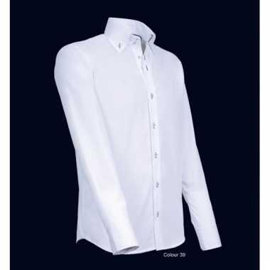 Luxe overhemd wit giovanni capraro